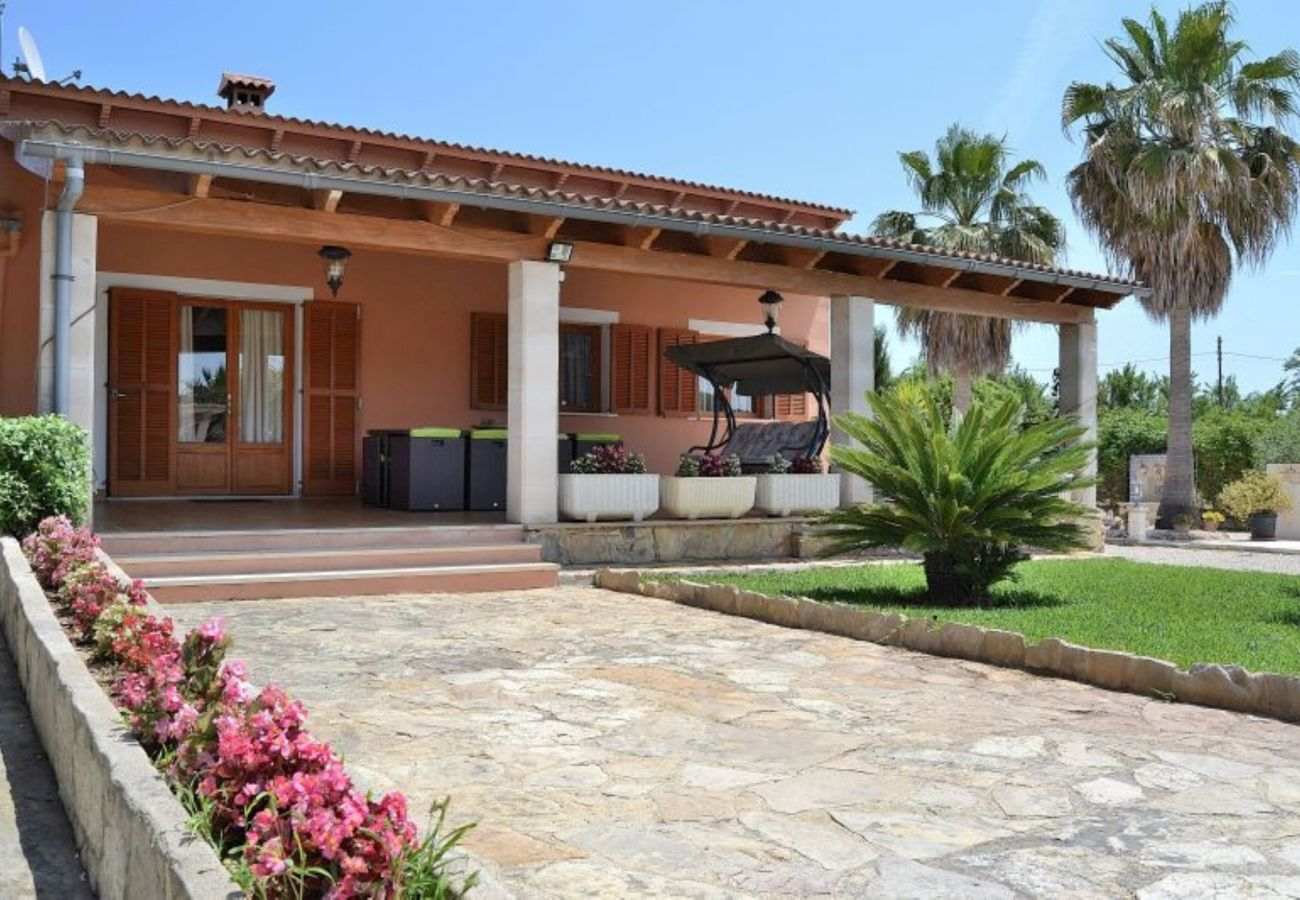 The villa is located in a quiet and private place
