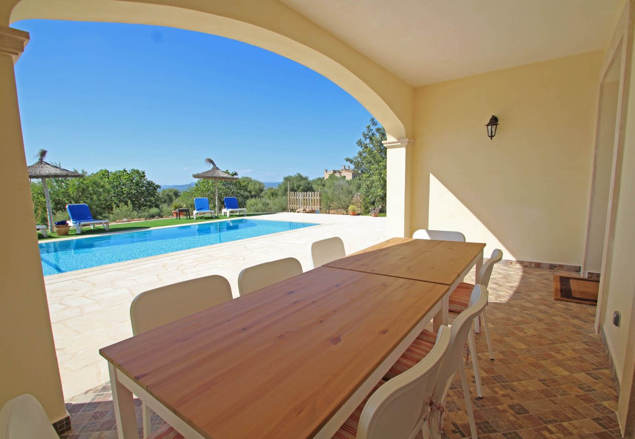 Country house in Campos - Finca Sa Pedrera - MODERN - SPACIOUS - NICE VIEW