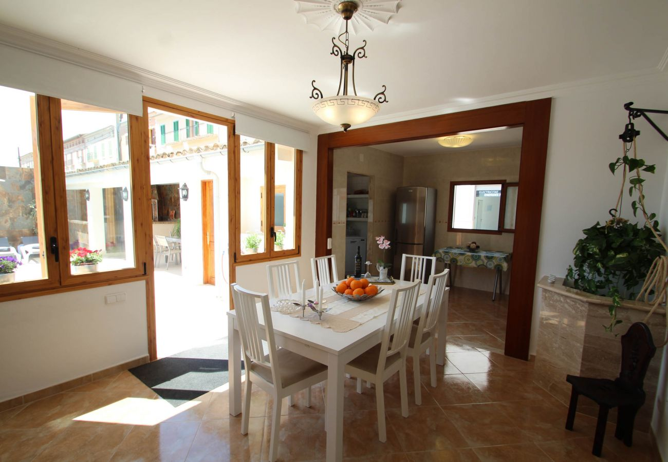 House in Porreres - Villa Es Rafal - Perfect house - Big Pool - AirCon
