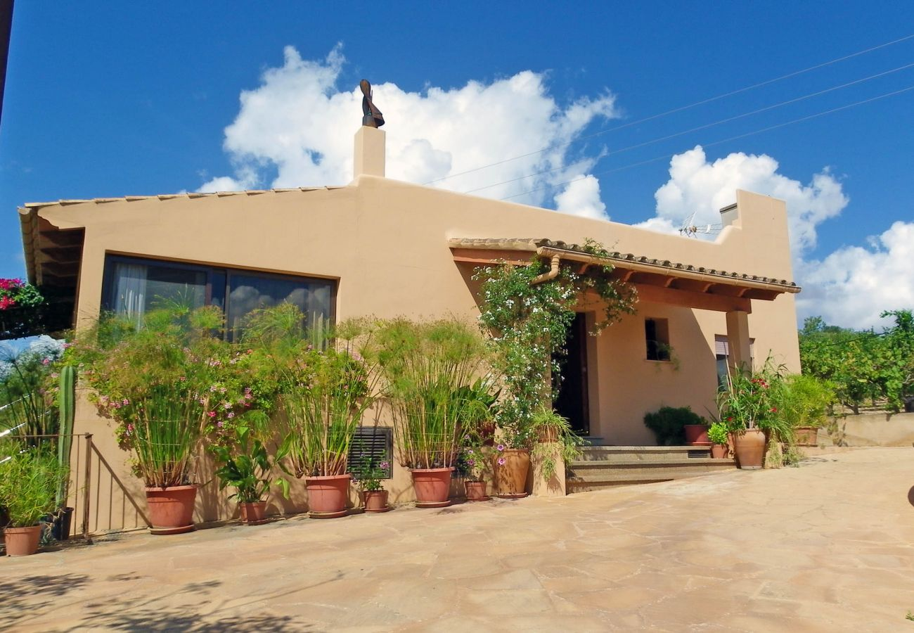 Country house in S´Alqueria Blanca - Finca Ses Serres - NICE VIEW - ON A HILL - WI·FI