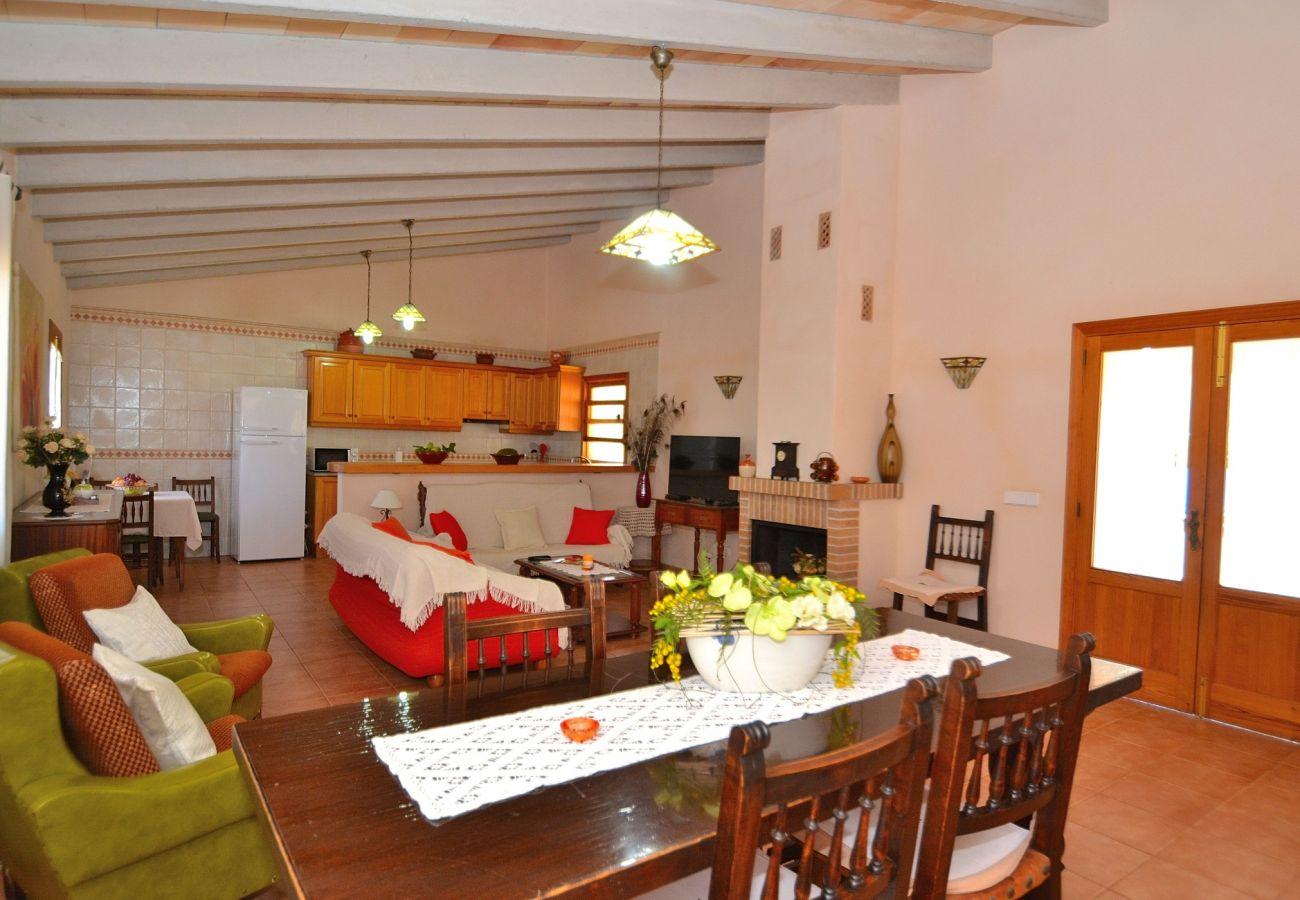 Country house in Llubi - Son Rossignol finca Llubí 193