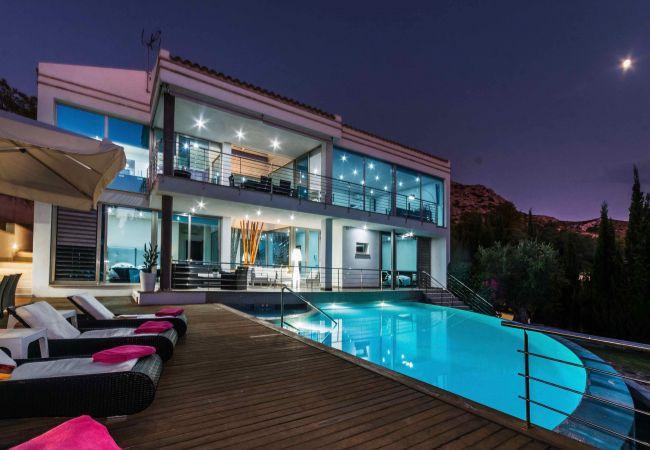 Villa/Dettached house in Alcúdia - Villa Ses Oliveres - Ultra Stylish Villa with pool