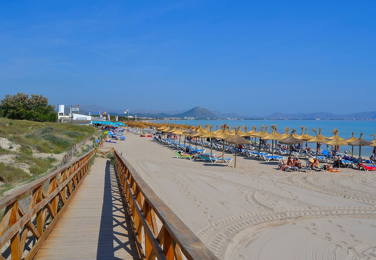 photo of the beach of playa de muro