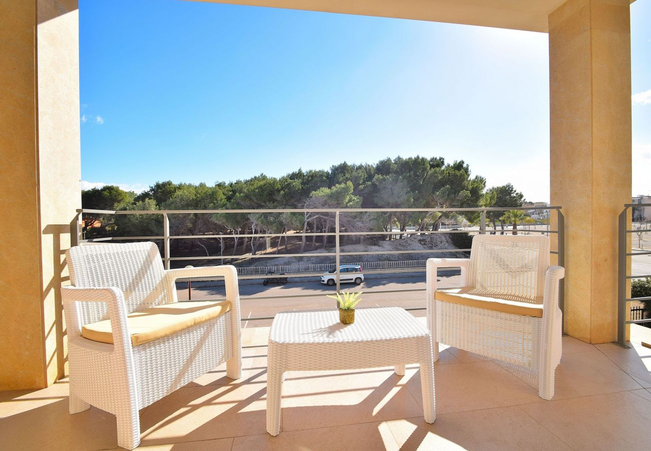 beautiful views from the luxury villa in can picafort