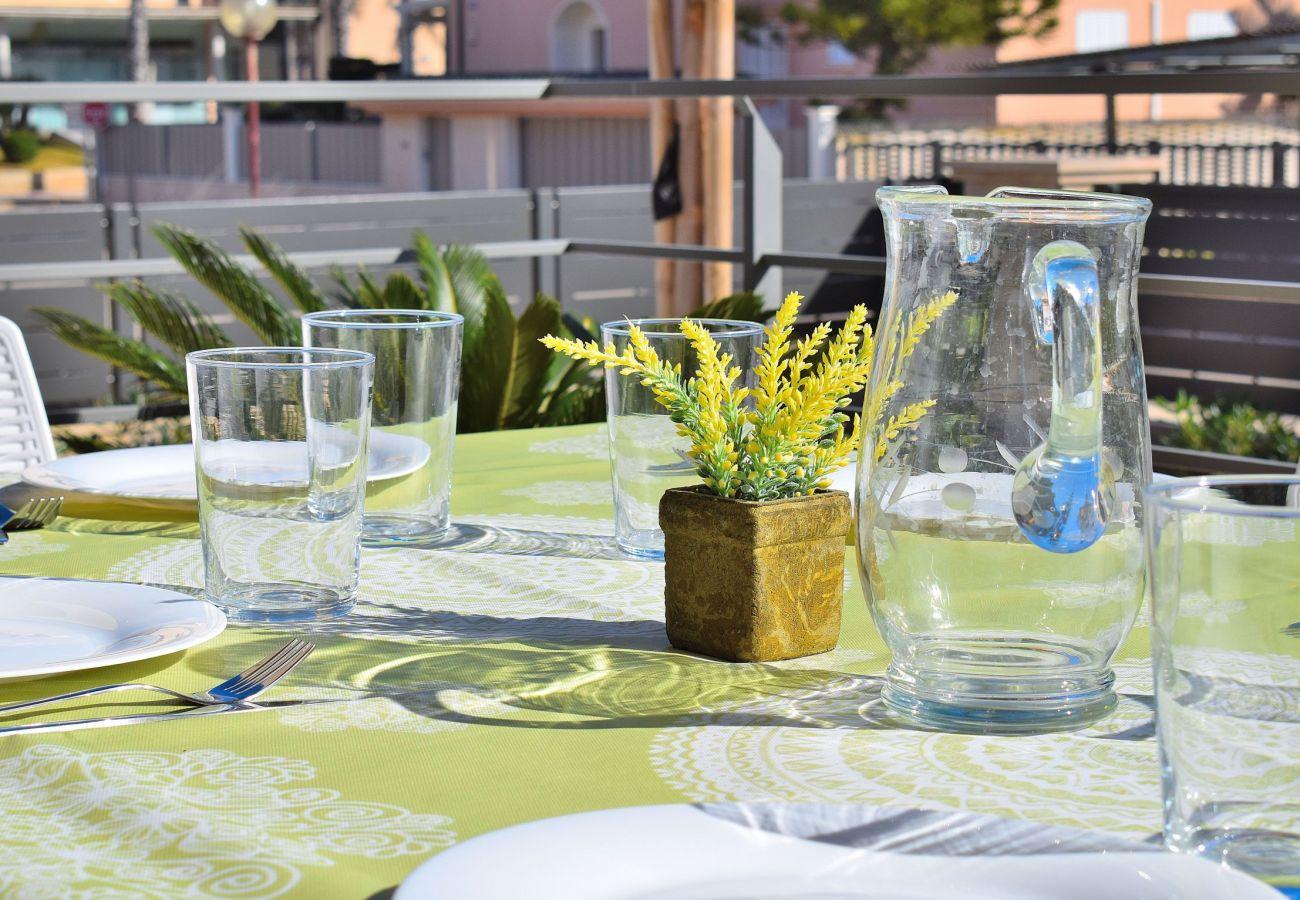 photo of the luxury villa in can picafort mallorca