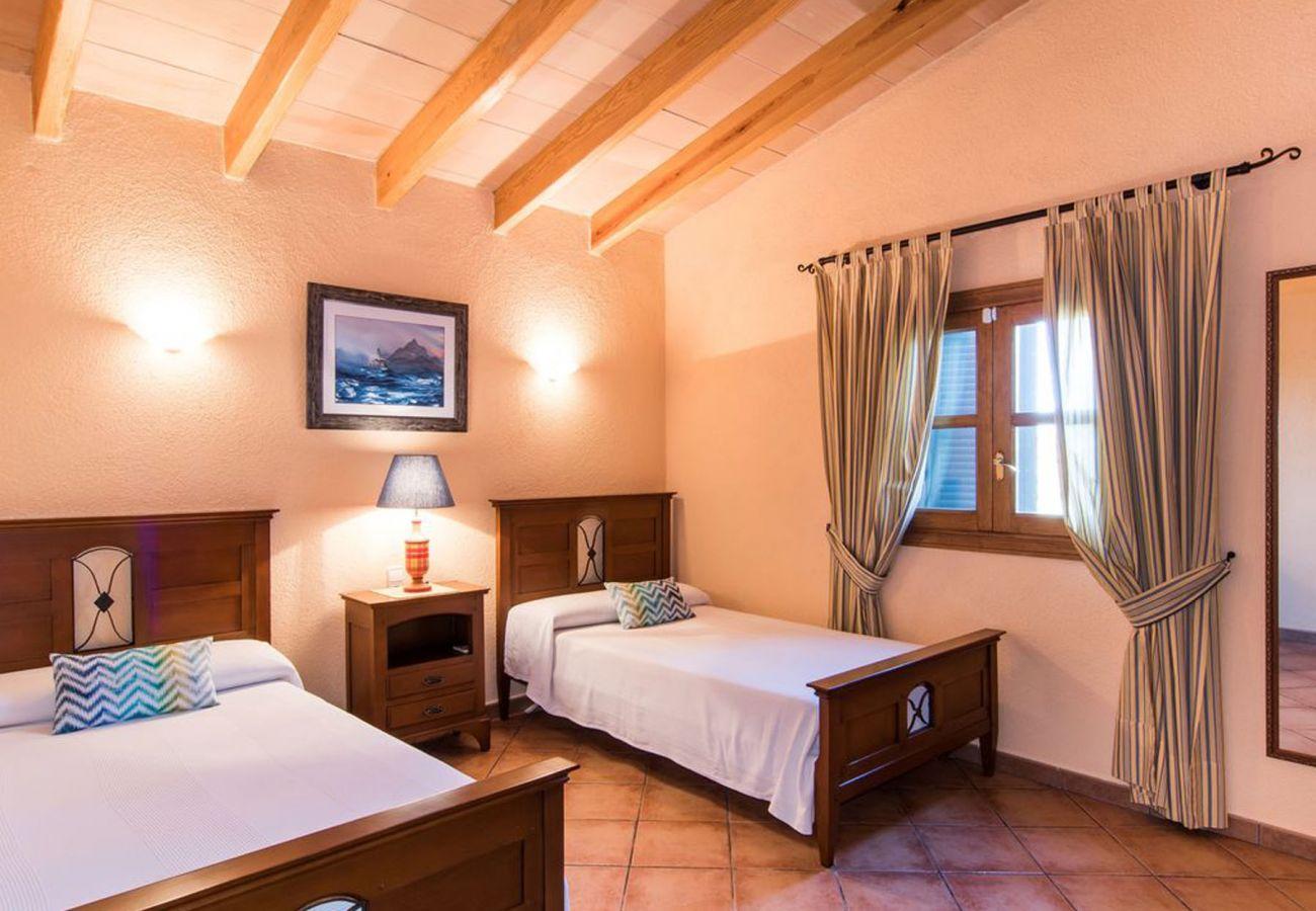 Country house in Porto Cristo - Finca Las Palmeras 16 - Big pool - Nice garden - 6